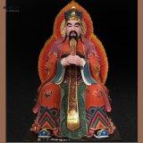 东岳大帝泰山神 图片 玻璃钢彩绘 寺庙供奉宗教祭祀