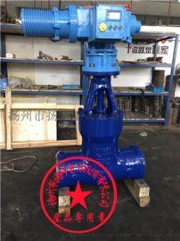 扬修电力高压焊接闸阀Z961Y带2SA3电动头
