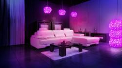 提供 LED灯饰 圆形 家庭装饰灯家用照明 吊灯 吸顶灯 落地灯
