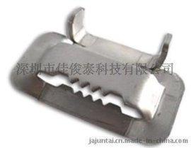 不锈钢扎带  不锈钢扎扣 牙型扣  L型扣  打包扣