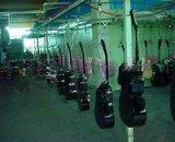 吉他自动化喷涂生产线 厂家直销 DISK静电喷漆设备 涂装机