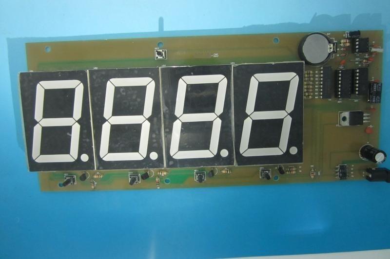 LED数码显示器遥控风扇控制板PCB电路板线路板电子产品开发设计