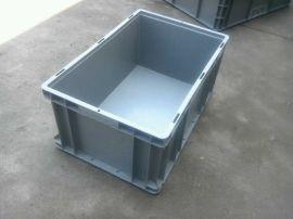 汽车零部件周转箱, 欧标EU箱塑料箱 ,带盖塑料物流箱