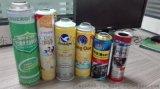 东莞厂家生产缩颈化工喷雾瓶喷雾罐加工定制 OEM灌装加工 易拉罐定制加工印刷化油器包装瓶