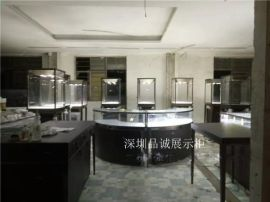 出口美国纽约的珠宝展示柜现场包装图深圳品诚