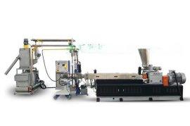 供应MH系列水中切粒POE热塑性弹性体塑料双螺杆挤出抽粒造粒机
