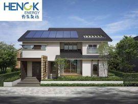 恒凯能源别墅太阳能热水取暖系统工程专业方案设计