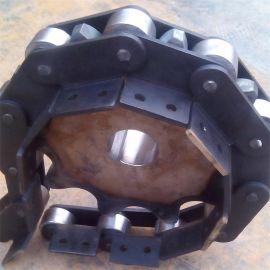 工业重载链条  大节距滚子链 非标弯板链条 常年大量低价供应
