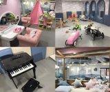 網紅親子餐廳室內兒童淘氣堡互動手工坊情景模擬樂園