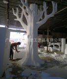 3D数控雕刻机制作精细泡沫雕塑 婚庆舞台背景道具装饰