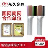 DTL-70铜铝鼻子铜铝过渡接头 电缆铜铝接线端子