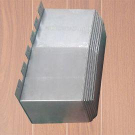 机床导轨钢板防护罩 防铁屑不锈钢防护罩 定制