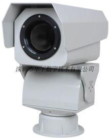 远近距离红外热成像连续变焦监控云台摄像机可带测温预警安全监控