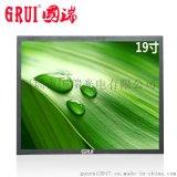 19寸液晶监视器工业级高清监控安防显示器HDMI/VGA/BNC金属外壳厂
