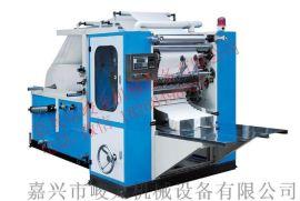 嘉兴峻龙机械全自动盒装抽式面巾纸折叠机