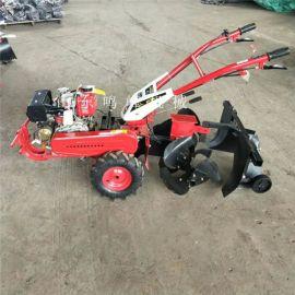 小型旋耕开沟微耕机,汽油动力小型旋耕机