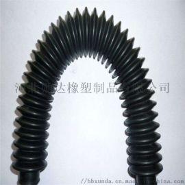 橡胶波纹伸缩管橡胶伸缩软管耐高温波纹胶管