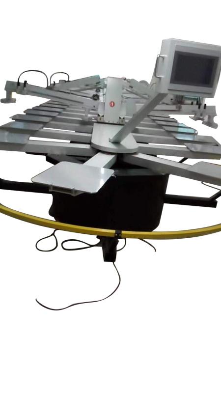 全自动印花机 引用丝网印花烘干机 椭圆印花烘干机