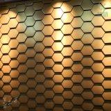六邊形平鎖扣板系統 蜂巢形牆面板 鋁鎂錳平鎖釦系統