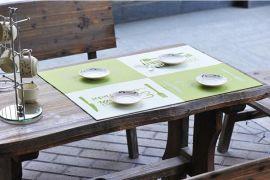 东莞厂家直销 防水环保PP餐垫 隔热垫 4片装 食品级片材