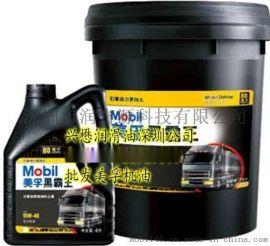 美孚黑霸王柴油机油Mobil 15W-40、20W-50重负工程车辆超级柴油发动机油