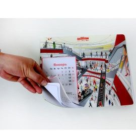 便签本鼠标垫记事本鼠标垫个性鼠标垫订制