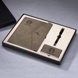 商务精品笔记本册礼盒套装三件套  可OEM客户LOGO
