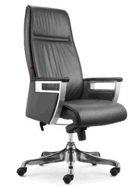 虹桥电脑椅 家用 办公椅子真皮大班椅 人体工学椅座椅转椅 老板椅