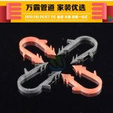 好暖家地暖管卡钉 U型塑料卡丁管卡20地热PERT管PB保温隔热地暖膜挤塑板