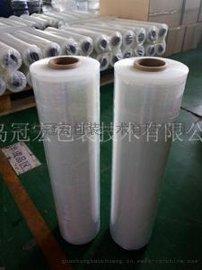 山东缠绕膜厂家 聚乙烯手用缠绕膜价格 pe膜拉伸强度包装薄膜