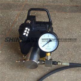 济南赛思特气动试压泵 高压高精度自动试压泵 打压泵