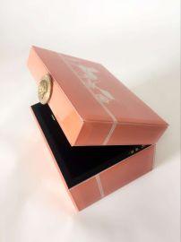 贴玻璃木质珠宝盒收纳盒