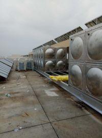 热销华腾达组合式不锈钢水箱、不锈钢消防水箱、不锈钢保温水箱,定制加工现场安装!