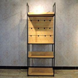 饰品展架落地靠墙数码货柜展示柜 复古手机挂件配件精品货架定制