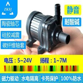 DC40耐酸碱24V微型直流磁力隔离泵