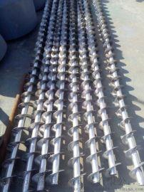 大料斗不锈钢给料绞龙  304不锈钢面粉提升机