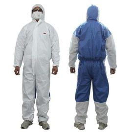 3M4535連體防護服透氣型顆粒物一次性防護服