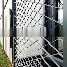 钢板拉伸网 钢板菱形网 菱形金属网