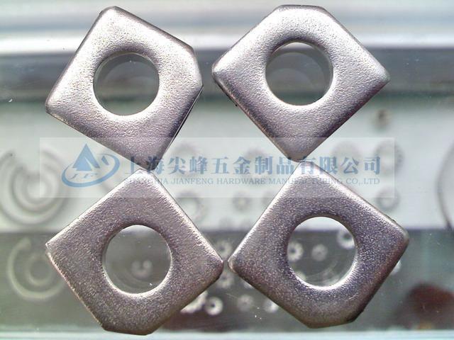 不鏽鋼方斜墊圈,GB853槽鋼用方斜墊圈