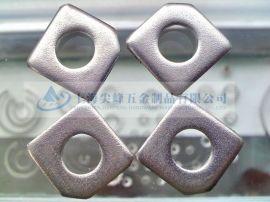 不锈钢方斜垫圈,GB853槽钢用方斜垫圈