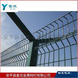 热销 监狱护栏网 监狱刀片钢网墙 Y型立柱防护网