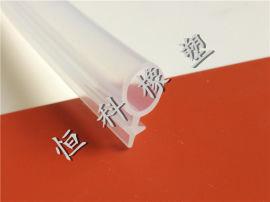供应透明硅胶条 耐高温防撞硅胶密封条