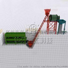 华强重科有机肥设备 一万吨生产线成本是多少