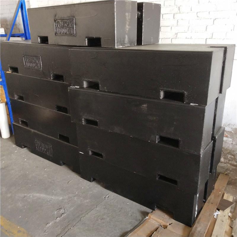 高青县1吨平板砝码1000kg铸铁砝码