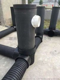 (湖南)主营:中空壁缠绕管 HDPE波纹管 钢带管