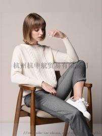便宜品牌女装折扣店韩版女装针织羊毛开衫外套便宜处理