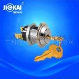 JK201环保电源锁 铜本色电子锁 UL电源开关锁