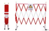 道路施工围栏市政玻璃钢伸缩围栏厂家