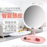 圓形LED化妝鏡 萬鍾牌化妝鏡