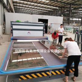 钢化玻璃夹胶炉夹胶玻璃设备